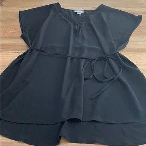 AVA VIV black tunic